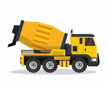 Construction Truck Betonmischer Mixer Lkw Cement Vehicle