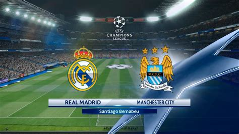 uefa champions league real madrid  manchester city