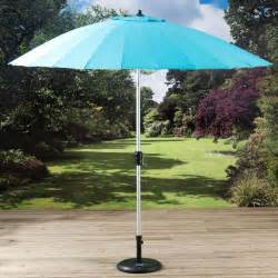 garden parasol umbrella garden parasol umbrella pagoda turquoise shanghi 2 7m free standing crank handle ebay