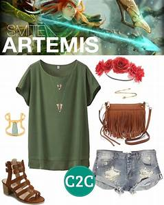 Artemis (SMITE) Inspired OutfitI've wanted to do an ...