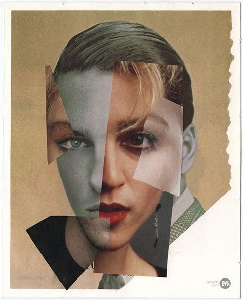 face building collage     magazine cut outs