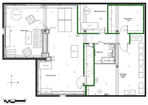 basement floor plans ideas designing your basement i finished my basement