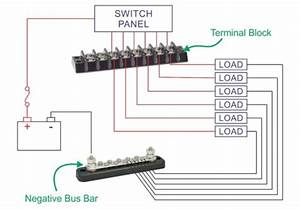 Marine Bus Bar Wiring Diagram