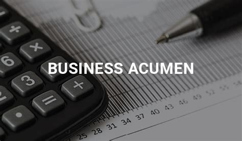 business acumen   council  insurance agents brokers