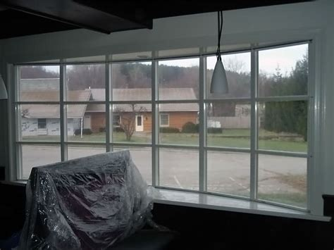 Basement Window Insulation Panels Installed In Bangor