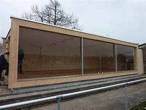 Gartenhaus Mit Glasfront : design vip lounge fc rimsingen bei breisach werner ettwein gmbh ~ Markanthonyermac.com Haus und Dekorationen
