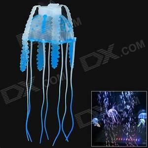 Simulation Floating Small Jellyfish Fish Tank Backdrop
