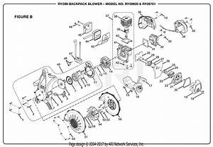 Homelite Ry09701 Backpack Blower Parts Diagram For Figure B