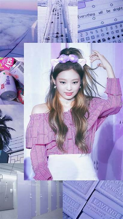 Blackpink Aesthetic Jennie Wallpapers Pink Kpop Desktop