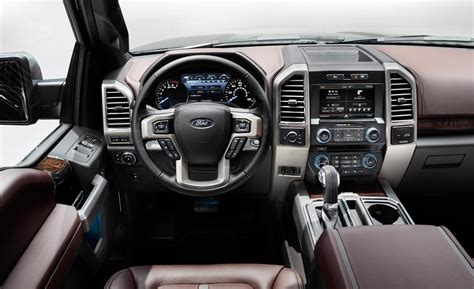 ford f 150 platinum interior car and driver