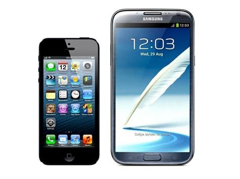 Apple Iphone 5 Better Than Samsung Galaxy Note 2