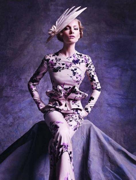 Purple Armani Prive Dress