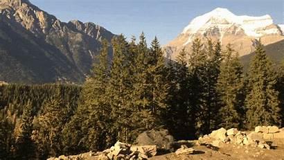 Rockies Train Rocky Mountain Landscape Rail Trench