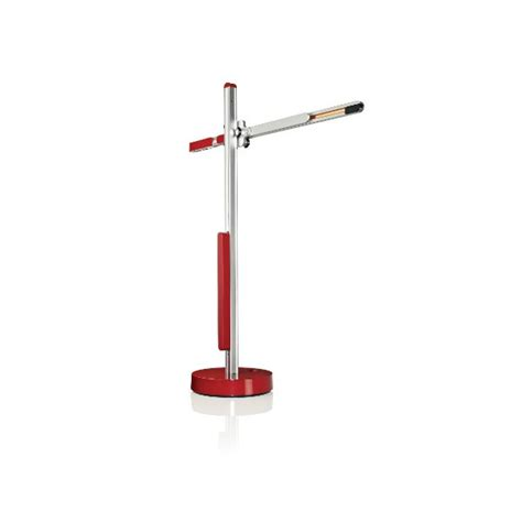 red light desk l jake dyson csys task led desk light red silver panik