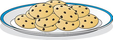 Top 60 Chocolate Chip Cookie Clip Art, Vector Graphics And