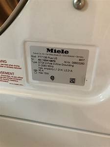Miele Dishwasher Service Manual Request