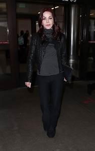 PRISCILLA PRESLEY at Los Angeles International Airport 12 ...