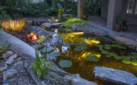 Aquascape Lights by Led Pond Lighting Premiere Aquascapes