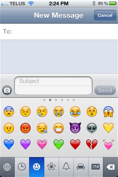 emoticons   iphone   apps