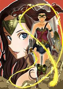 Top Japanese Artists Are Drawing 'Wonder Woman' Fan Art