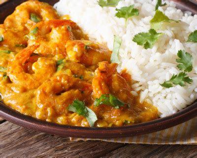recette scampis au curry