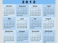 Calendar 2012 2018 Calendar printable for Free Download
