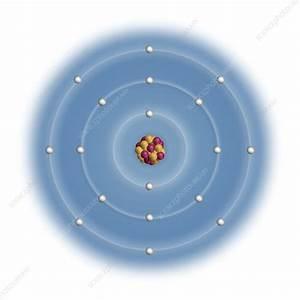 Argon  Atomic Structure - Stock Image  2481