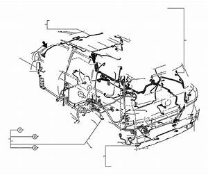 Toyota Land Cruiser Parking Aid System Wiring Harness