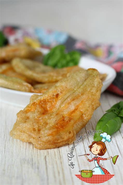 Frittelle Con Fiori Di Zucchina by Frittelle Fiori Di Zucchine In Pastella Gusto E Sapore