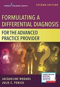 Formulating A Differential Diagnosis For The Advanced