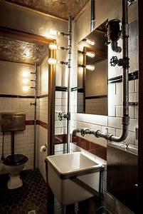 Bad Industrial Style : 10 id es pour donner un style industriel sa salle de bain ~ Sanjose-hotels-ca.com Haus und Dekorationen