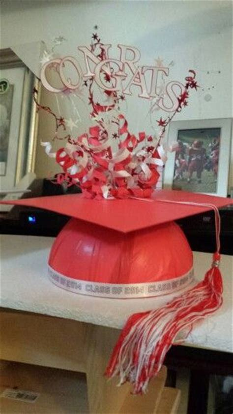 Graduation Table Decorations To Make by Graduation Caps Graduation And Centerpieces On