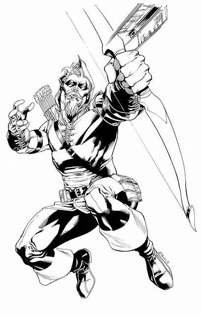 Arrow Drawing Jla Atkins Robert Marvel Deviantart