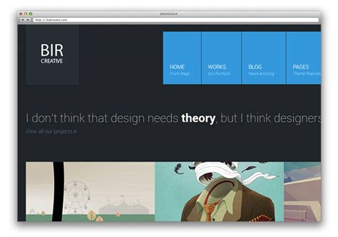 12 Flat Portfolio Website Templates