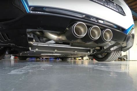 Bmw I8 Gets Custom Exhaust With Three Tips