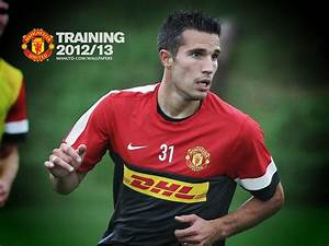 The football player number 20 of Manchester United Robin ...