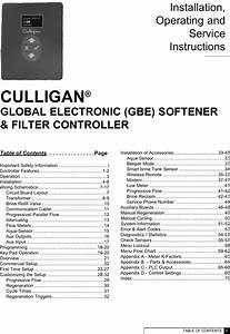 Culligan 01020606 Smart Sensor Gold Series Softeners With