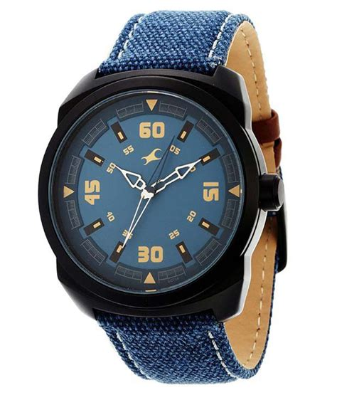 Fastrack 9463al07 Blue Leather Analog Watch  Buy Fastrack. Birthday Earrings. Indented Natural Diamond. Pet Bracelet. Rare Gem Rings. Push Present Rings. Wheel Bracelet. Black Pvd Watches. Carved Rings
