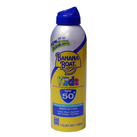 Banana Boat Sunscreen Safe by Banana Boat Kids Spf50 Sunscreen Spray 175ml Toys Quot R Quot Us
