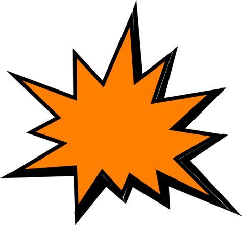 Pow Clipart Orange Comic Pow Clip At Clker Vector Clip