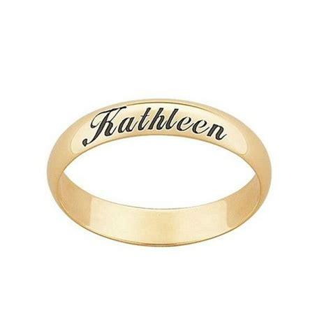 kerala wedding ring model with names name engraved ring