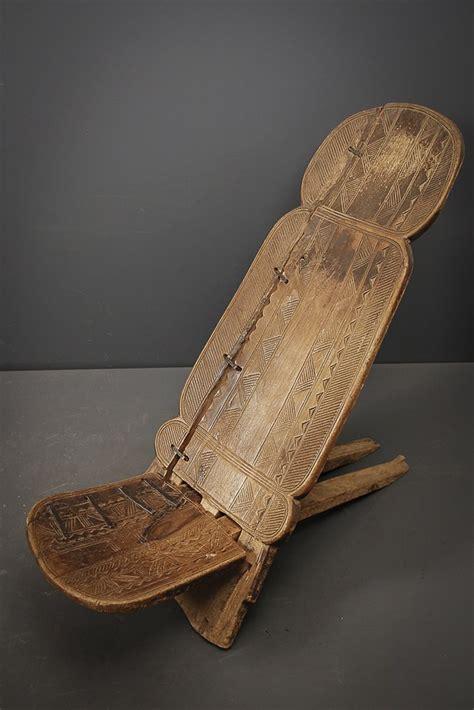 Chaise à Palabre Senoufo (4698)  Chaise  Art Africain