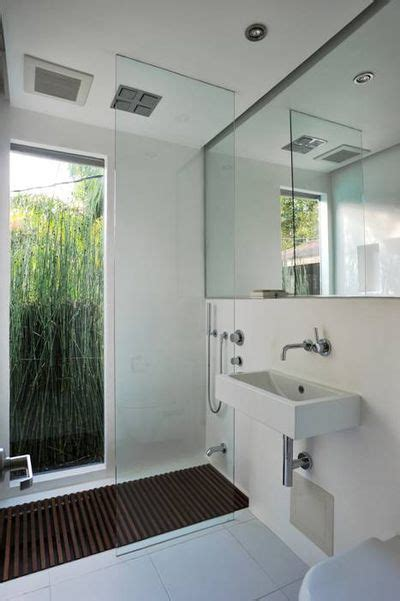 pro portfolio small modern bathroom remodel l a at