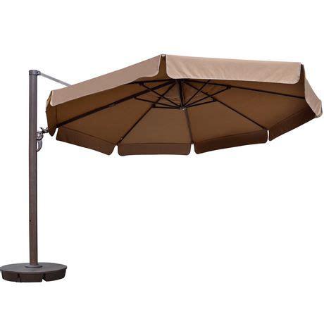island umbrella victoria 13 ft octagonal cantilever w