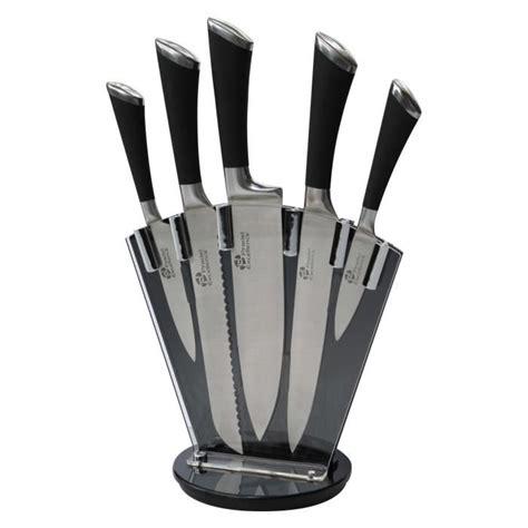 couteau cuisine pradel pradel excellence bloc 5 couteaux achat vente couteau