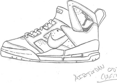 Coloring Nike Air 1 by Nike Coloring Pages At Getcolorings Free Printable