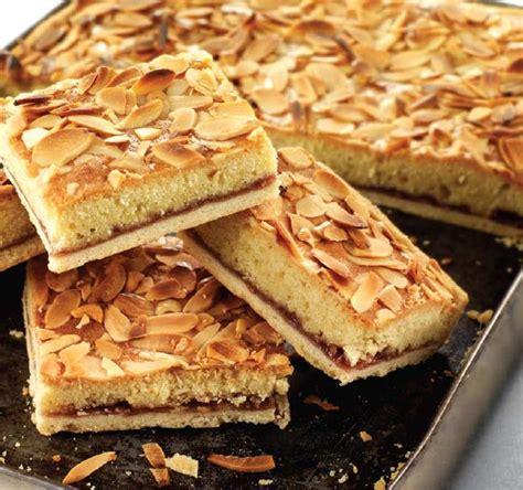 almond slices food ireland irish recipes