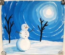 Winter Landscape Art Projects