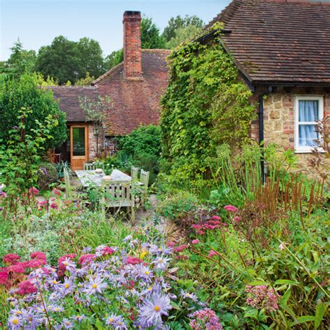country cottage garden tour ideal home