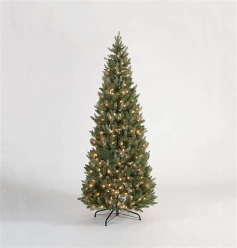 pop up tree with lights 5ft hazen blue green luxury quot pre lit pop up quot premium pe